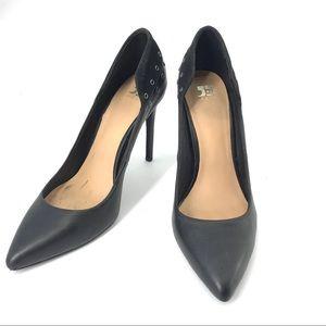 Joe's Dorian leather stiletto high heels